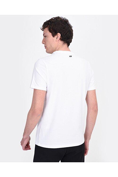 SKECHERS Graphic Tee's M You Will... Print Erkek Beyaz Tshirt 2