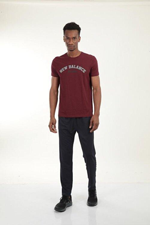 New Balance Bordo Erkek T-shirt Mpt025-bkr 2