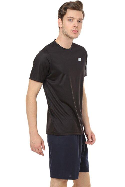 New Balance Logo Mens Tee Siyah Erkek Tişört - Nbtm008-bk 2