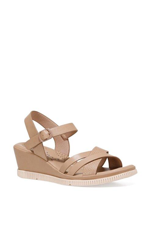 İnci ACOREDDA 1FX Camel Kadın Dolgu Topuklu Sandalet 101027281 2