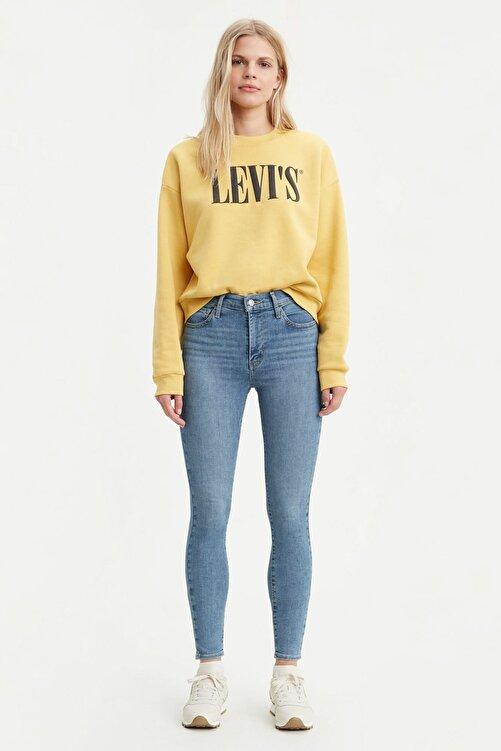Levi's Levis Bayan Jean Pantolon 720 High Rise Super Skinny 52797-0124 1