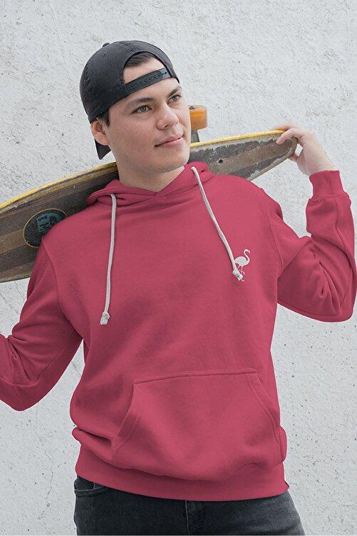 Flamingo Butik Kadın Onlyflamingo Sweatshirt Fuşya 2