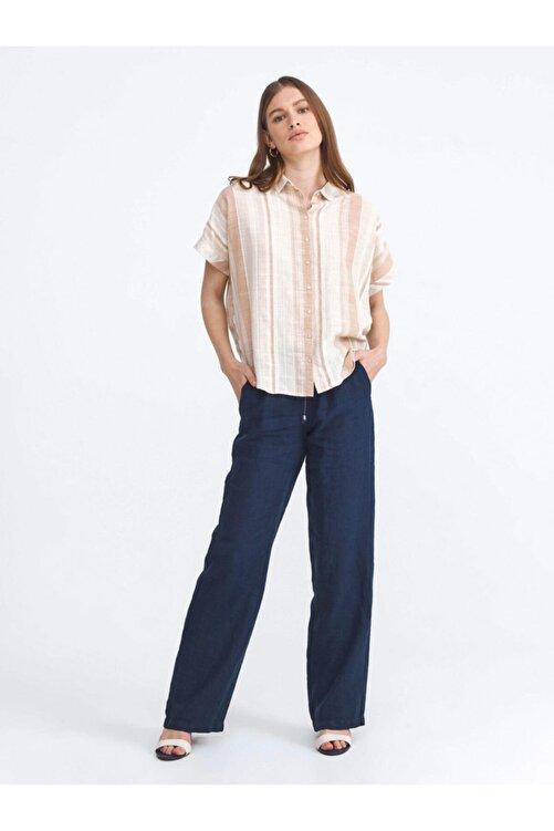 Xint Xınt %100 Keten Rahat Kesim Pantolon 2