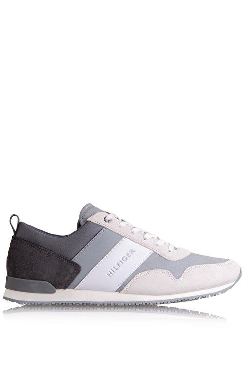 Tommy Hilfiger Erkek Ayakkabı Gri (Xm0xm01137-0ın) 1