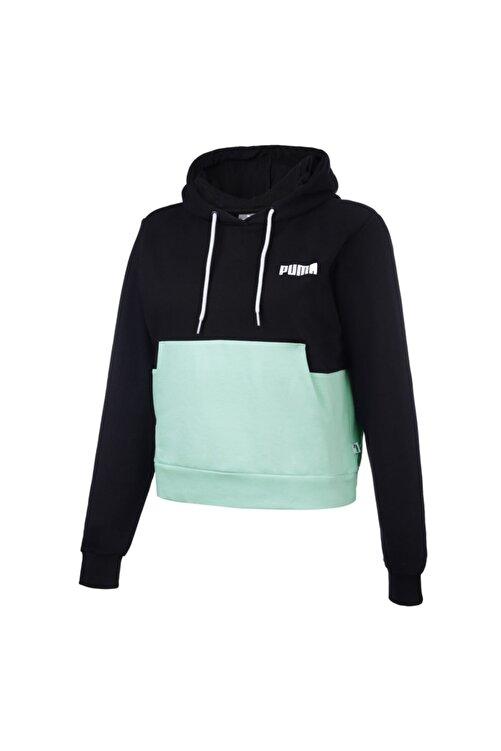 Puma HOODIE PUMA Siyah Kadın Sweatshirt 101119471 1