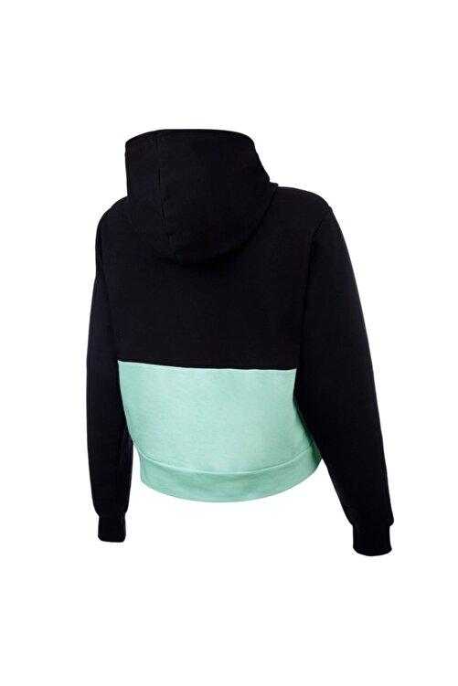 Puma HOODIE PUMA Siyah Kadın Sweatshirt 101119471 2