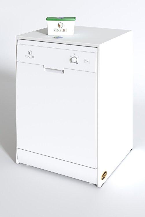 Kenzlife Bulaşık Makinesi Dolabı Berfu Byz 90*70*60 Banyo Ofis 2