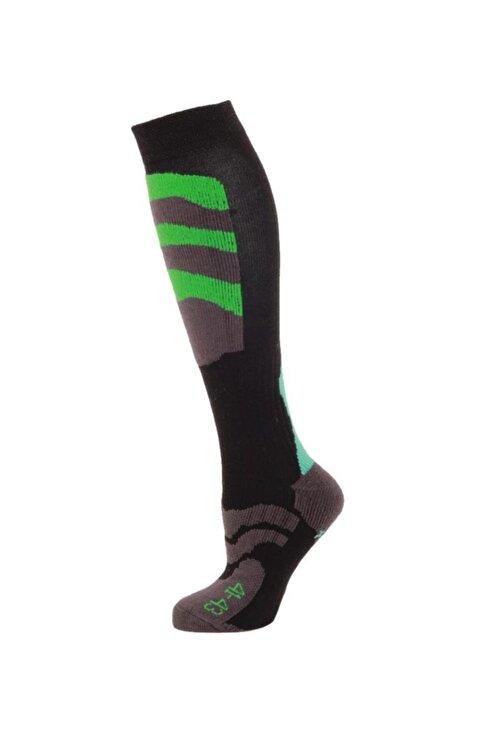 Panthzer Ski Socks Erkek Kayak Çorap Yeşil/mavi 1