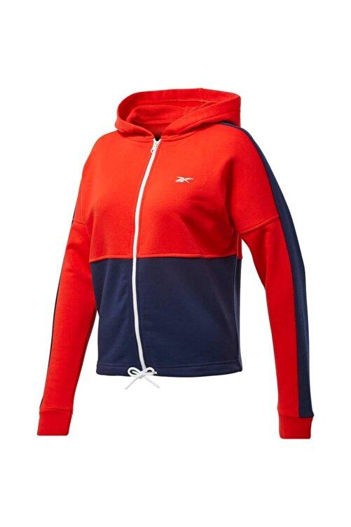 Reebok Ft0901 Te Linear Kadın Kırmızı Mavi Sweat 2