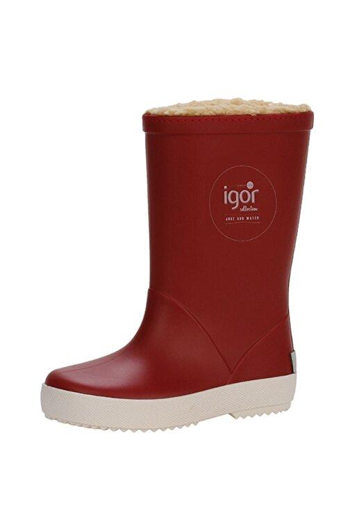 IGOR SPLASH NAUTICO BORREGUITO Kırmızı Kız Çocuk Yağmur Çizmesi 100518768 2