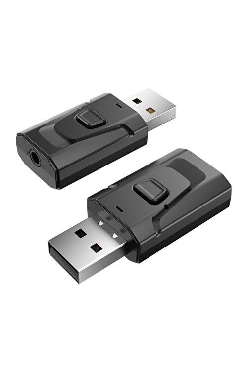 Streak T7 Bluetooth Usb 2 In 1 Müzik Alıcısı 3.5mm Aux Adaptör Araç Kiti 1