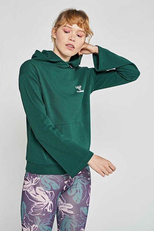 HUMMEL Kadın Bebita Yeşil Sweatshirt 920925-9972 1