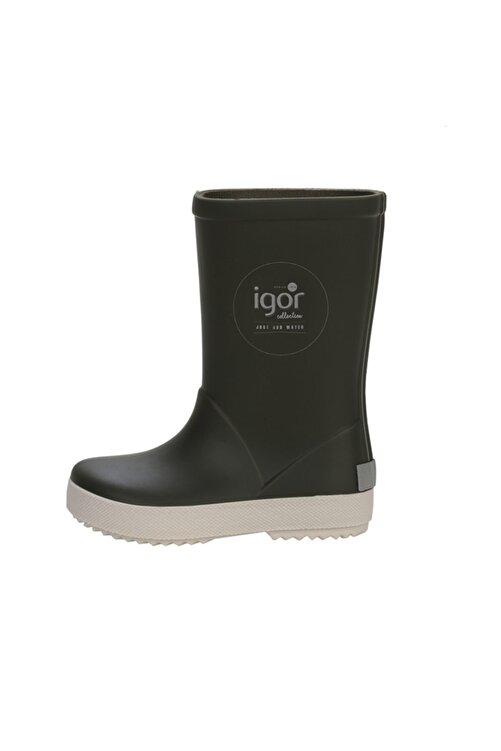 IGOR W10107 Splash Nautico-042 Haki Unisex Çocuk Yağmur Çizmesi 100386342 1