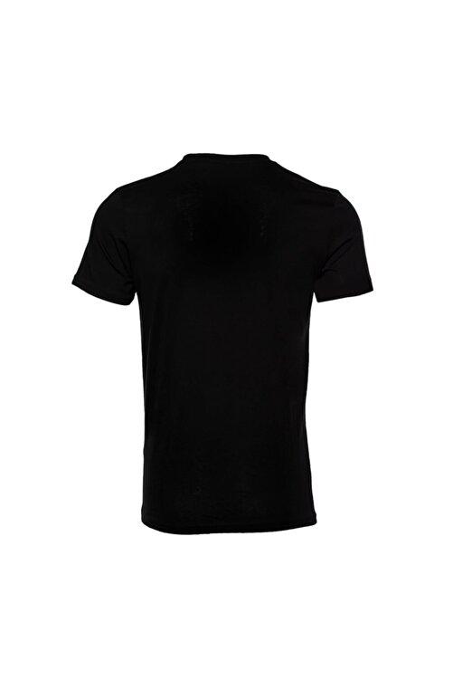 New Balance Erkek Siyah T-shirt Mpt028-bk 2