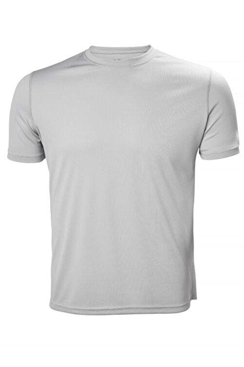 Helly Hansen Techt Erkek T-shirt Açık Gri 1