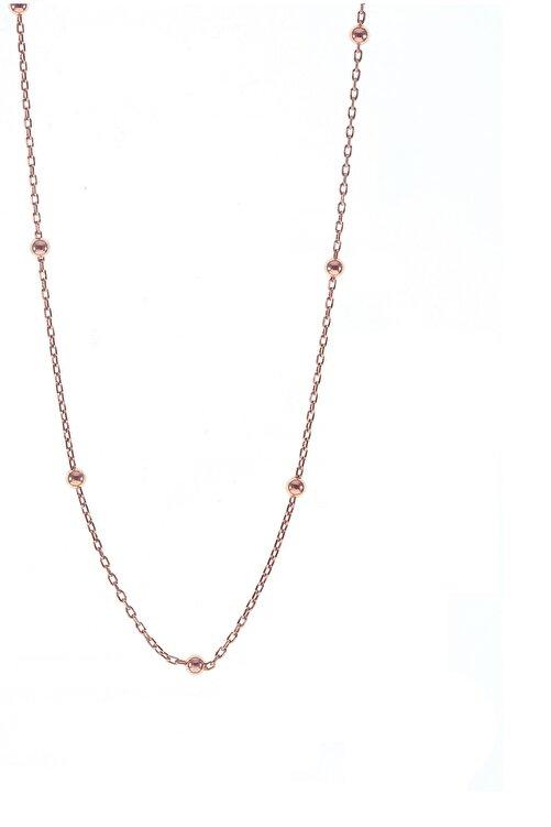 Söğütlü Silver Gümüş 50 Cm Rose Top Top Zincir 1