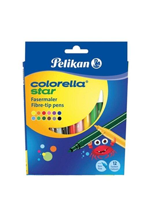 Pelikan Keçeli Boya Kalemi Colorella Karton 12 Renk C302 1