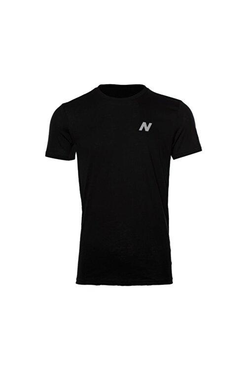 New Balance Erkek Siyah T-shirt Mpt028-bk 1