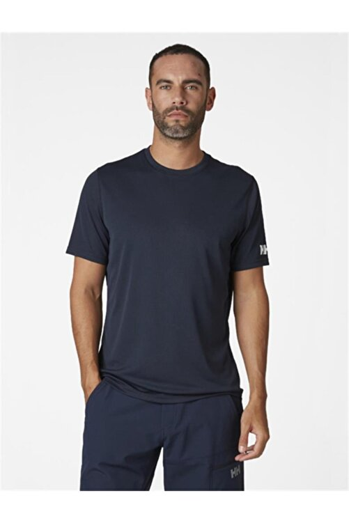 Helly Hansen Techt Erkek T-shirt Lacivert 2