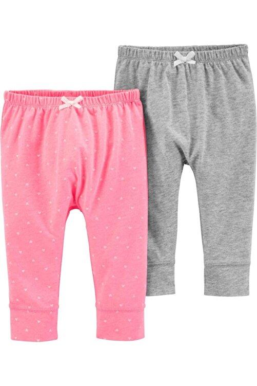Carter's Layette Kız Bebek 2'li Pantolon 1