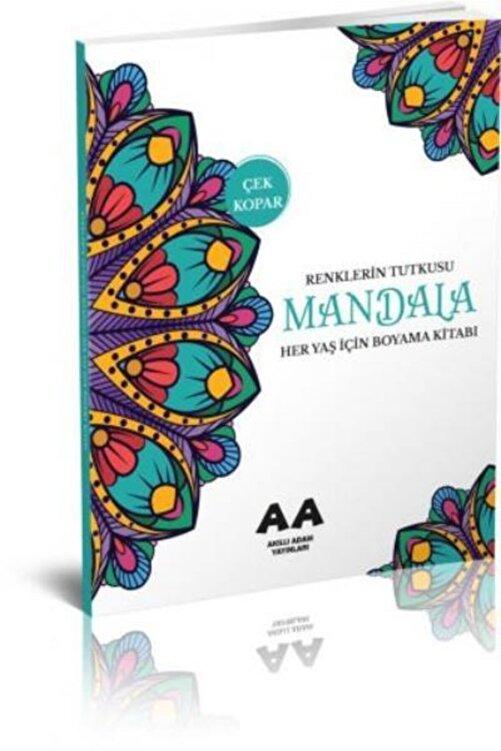 Akıllı Adam Mandala Renklerin Tutkusu Her Yaş Için Boyama Kitabı 1
