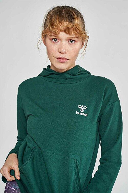 HUMMEL Kadın Bebita Yeşil Sweatshirt 920925-9972 2