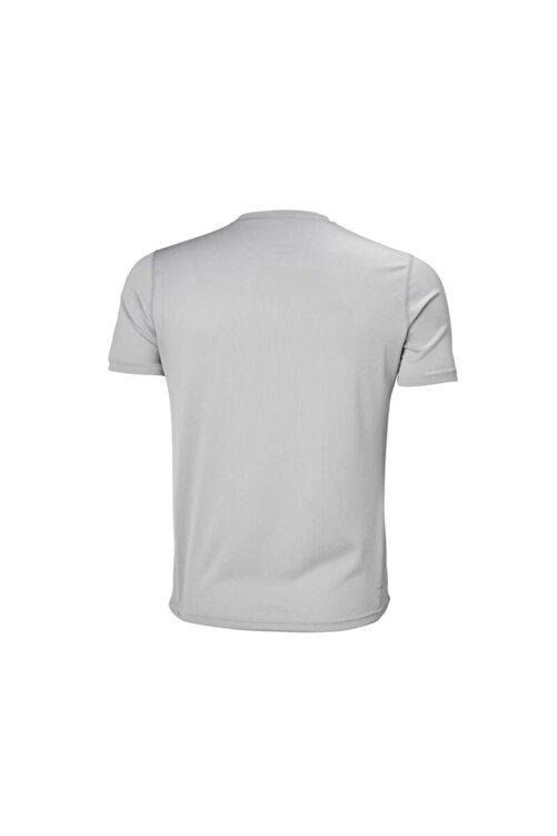 Helly Hansen Techt Erkek T-shirt Açık Gri 2