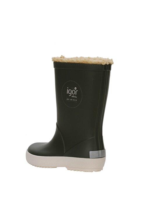 IGOR SPLASH NAUTICO BORREGUITO Haki Erkek Çocuk Yağmur Çizmesi 100518772 2