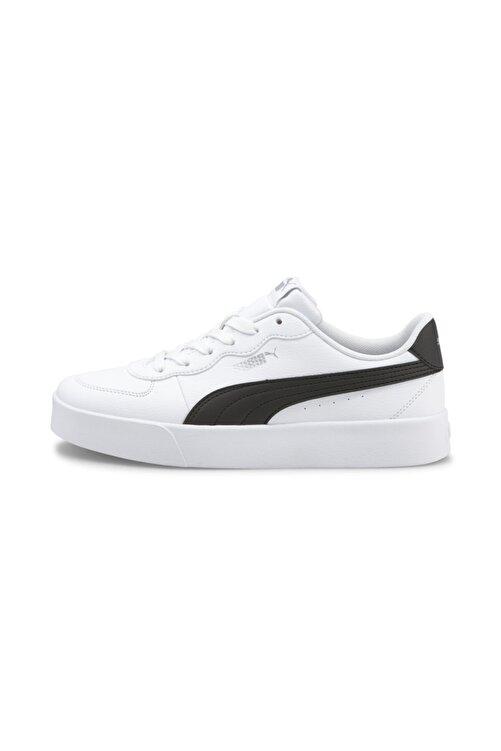Puma Kadın Skye Clean  Spor Ayakkabı - Beyaz-siyah 1