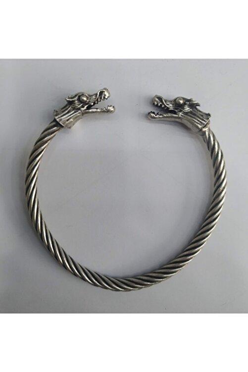 ema Ejderha Başlı Viking Ayarlanabilir Bileklik 1
