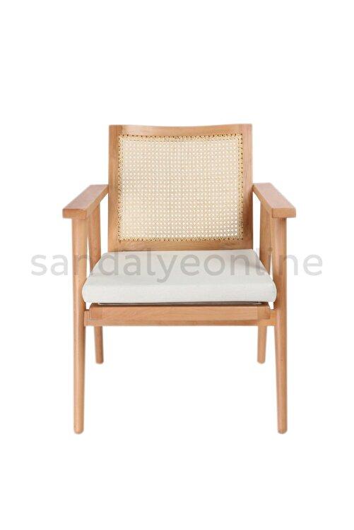 Sandalye Online Julian Ahşap Hazeran Berjer Koltuk Sandalye 2