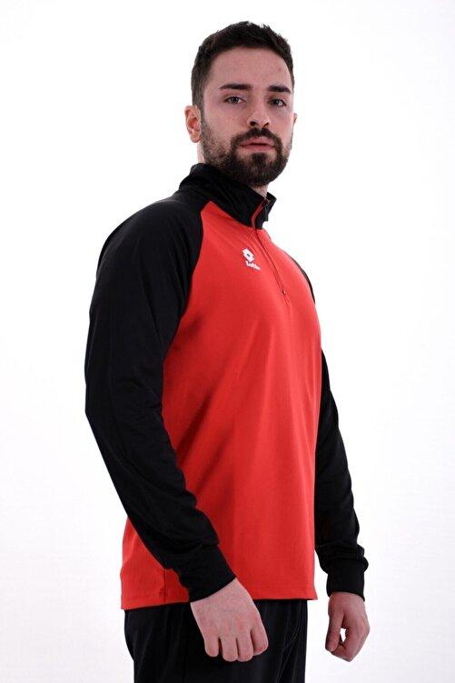 Lotto Sweatshirt(Halfzip) Erkek Kırmızı/Siyah-Xrıde Iı Sweat Hz Ant Pl-R8976 1
