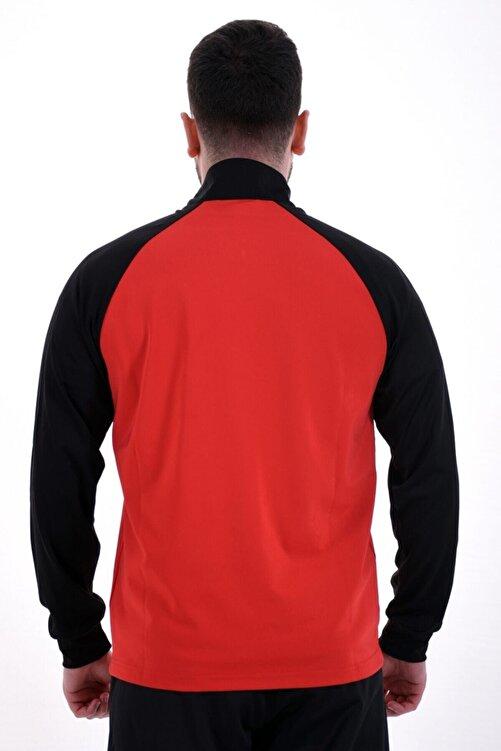 Lotto Sweatshirt(Halfzip) Erkek Kırmızı/Siyah-Xrıde Iı Sweat Hz Ant Pl-R8976 2
