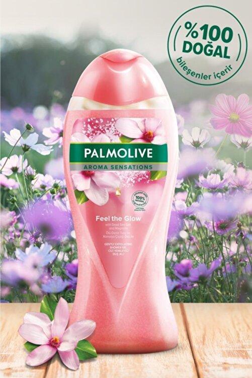 Palmolive Aroma Sensations Feel The Glow Peeling Etkilli Banyo Ve Duş Jeli 500 ml 2