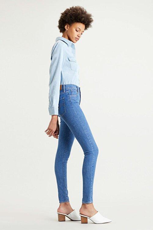 Levi's Kadın Mavi Yüksek Bel Super Skinny Jean 720 2