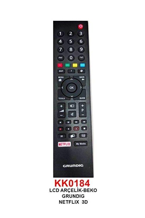 Beko Rc 3304805/01b Rm-l271b Netflıx Tuşlu Lcd-led Tv Kumanda (ts5187r-a1) 1