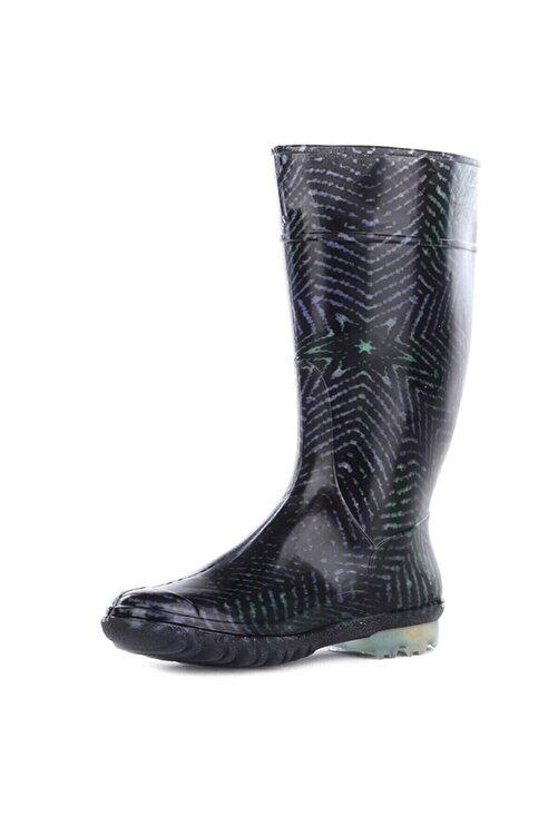 GEZER 12560 Füme Kadın Yağmur Çizmesi 2