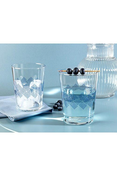Madame Coco Pierretta Blue Rugs 4'lü Meşrubat Bardağı Seti 510 ml 1