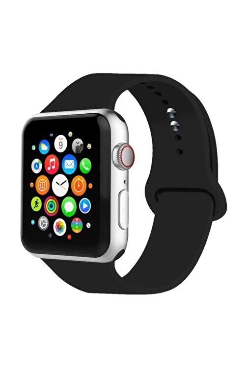 MORTY Apple Watch Kordon 2 3 4 5 6 Se Seri Uyumlu 42 mm ve 44 mm Silikon Kordon Kayış 1