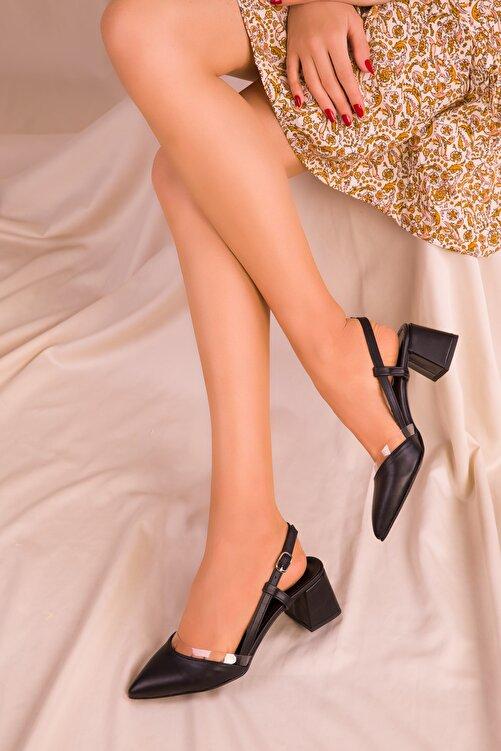 SOHO Siyah Kadın Klasik Topuklu Ayakkabı 14656 1