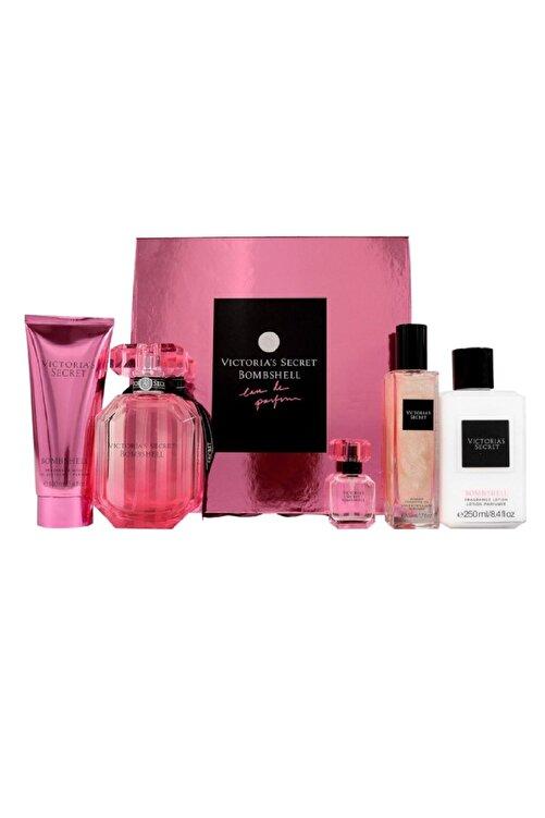 Victoria's Secret Bombshell Edp 100 ml Kadın Deluxe Parfüm Seti 1