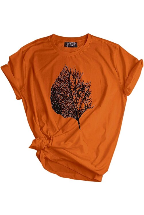 GENIUS Store Unisex Baskılı Tişört Outdoor Normal Kalıp Tshirt 1