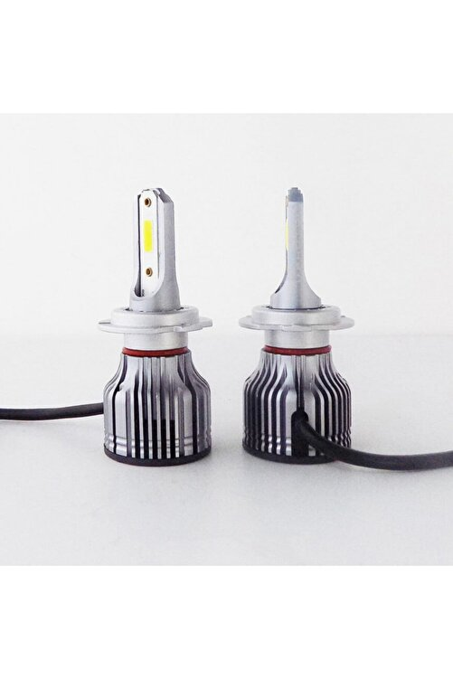 Photon H7 Acorn Mini Led Xenon Şimşek Etkili Beyaz Zenon Far Ampulu 2