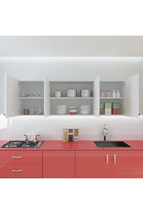 Kenzlife Hazır Mutfak Marina Byz 060*150*32 Mutfak Banyo Dolabı Kapaklı Raflı 2