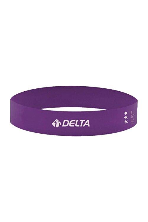 Delta Tam Sert Aerobik Bandı Latex Bant Pilates Yoga Lastiği 1