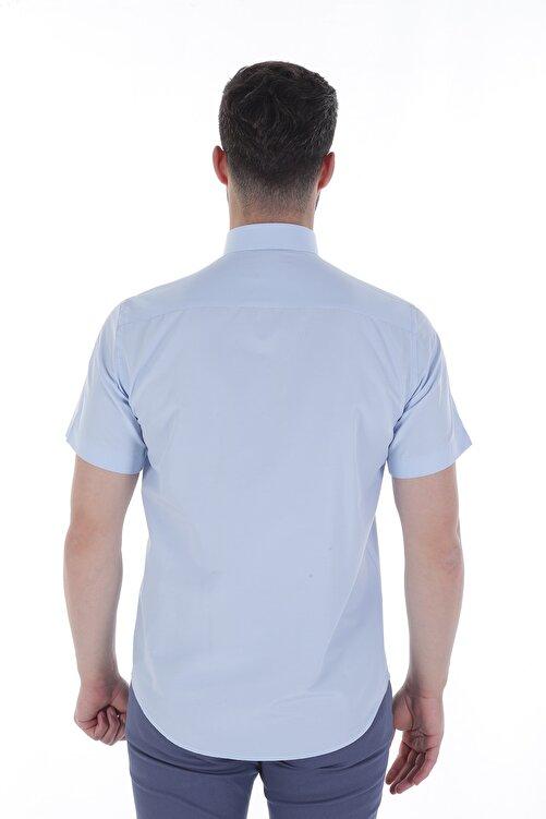 Diandor Kısa Kollu Erkek Gömlek A.Mavi/L.Blue 1912618 2