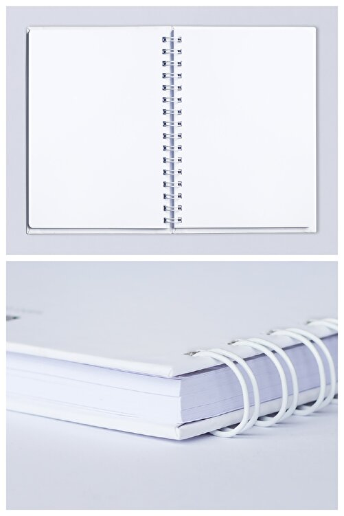 Mespho Gramafon Plak Çalar Tasarımlı A5 Ebat Spiralli Sert Kapak Defter (14,8 x 21 cm.) 2