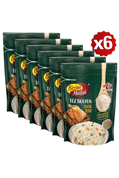 Bizim Mutfak Toz Tavuk Suyu Bulyon 150 Gr 6'Lı Paket 1