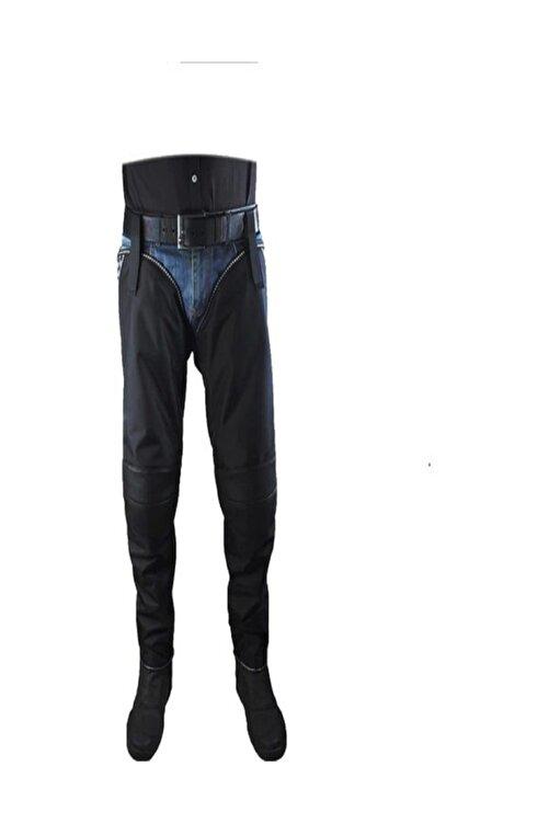 Style Motosiklet Rüzgar Yağmur Koruyucu Dizlik Yarım Pantolon 1