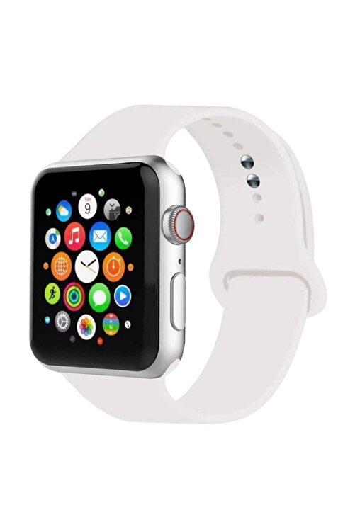 MORTY Apple Watch Kordon 1 2 3 4 5 6 7 Se Seri 38 Mm/40 Mm/41 Mm Silikon Kordon Kayış 1
